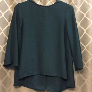 Jewel-tone blouse